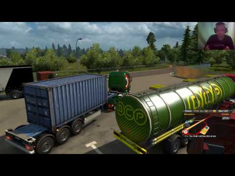 ETS2 - Full Pack - 47# The Peas Delivered From Stockholm To Genève, 2034 km 2 of 3