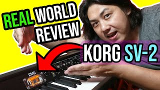 KORG SV-2 Stage Piano - Here's What No One Tells You