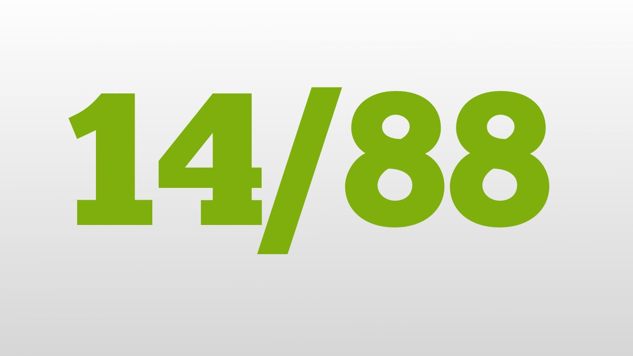 1488 meaning - 1488 Meaning 1