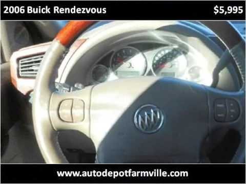 2006 Buick Rendezvous Used Cars Farmville NC - YouTube