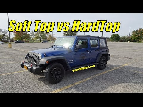Jeep Wrangler Unlimited Soft Top Vs Hardtop Pros And Cons Which To