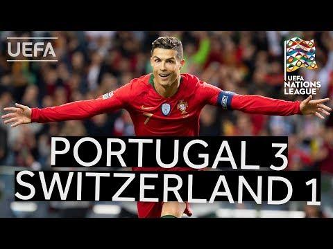 PORTUGAL 3-1 SWITZERLAND #UNL FINALS HIGHLIGHTS