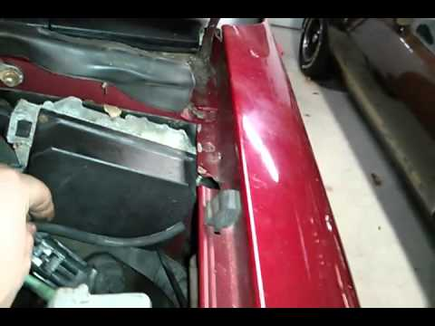 Chevy S-10 / Blazer vacuum canister line - YouTube
