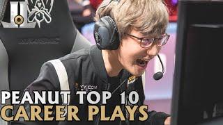 Peanut Top 10 Career Plays | LoL esports