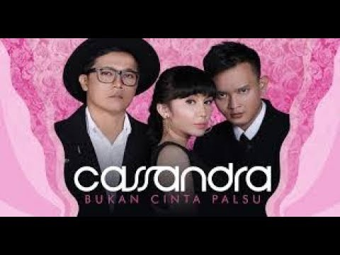 BUKAN CINTA PALSU - CASSANDRA karaoke download ( tanpa vokal ) cover