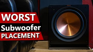 Room EQ Wizard - Is your subwoofer in the wrong location?