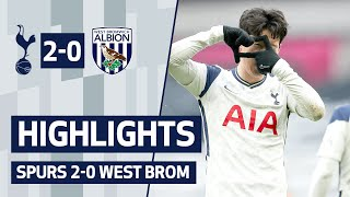 HIGHLIGHTS | SPURS 2-0 WEST BROM | Son & Kane back in the goals!