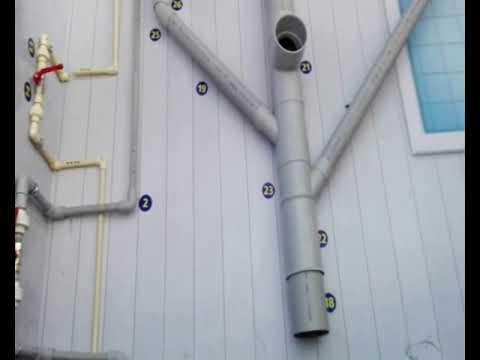 Como instalar agua y desague de un ba o youtube - Desague bano ...