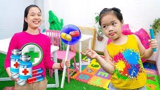 Cách Làm Kẹo Mút Ngon Tuyệt ❤ Cô Bé Hiếu Động - Trang Vlog
