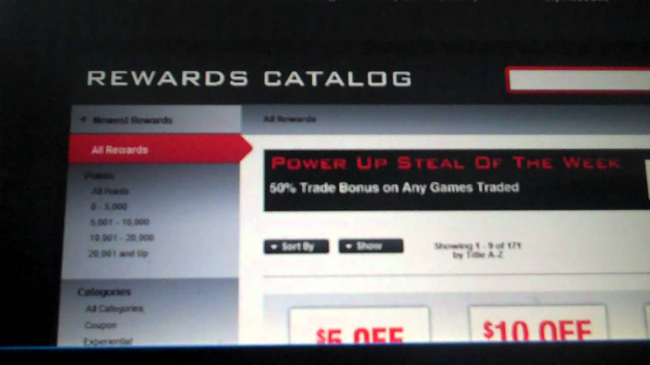 How To Use The Powerup Rewards From Gamestop Youtube
