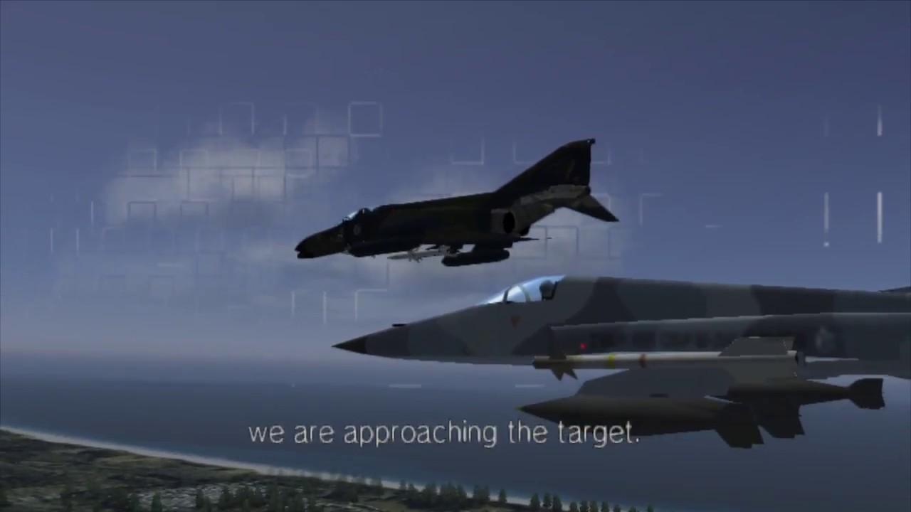 Ace Combat 5 - PS4 emulation test
