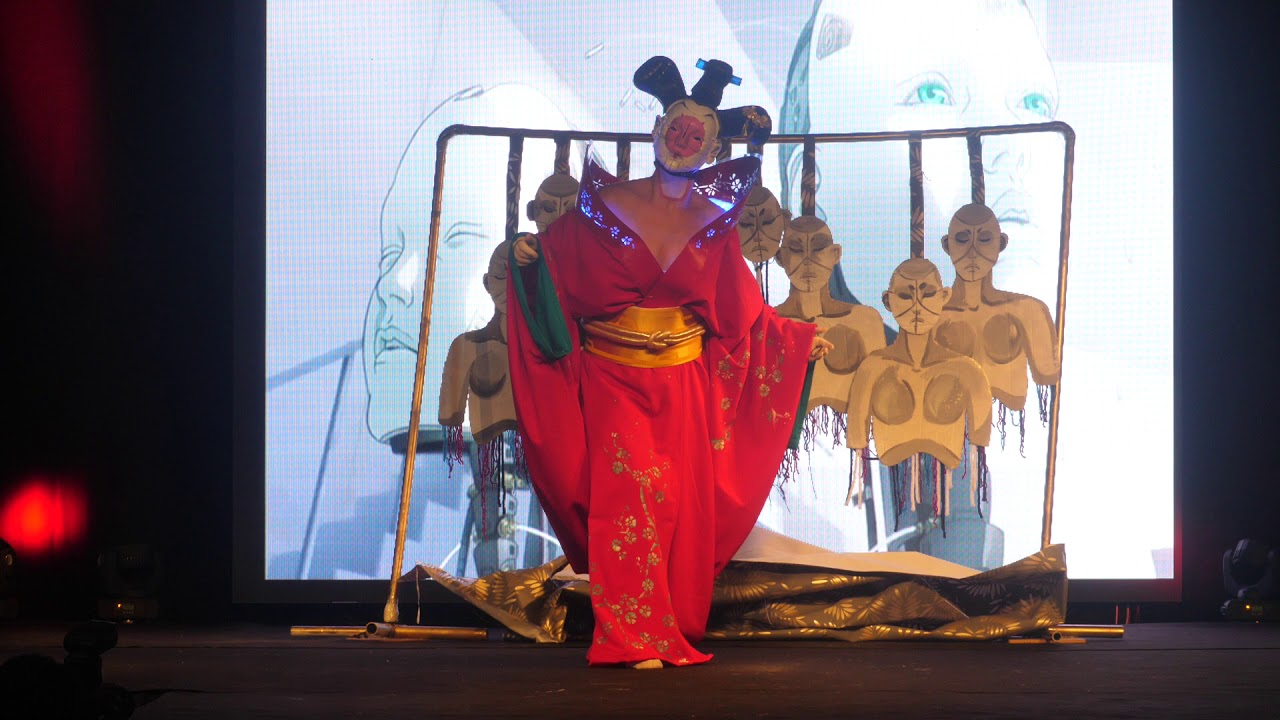 Geek Days Lille 2018 Concours Cosplay 22 Ghost In The Shell Geisha Youtube
