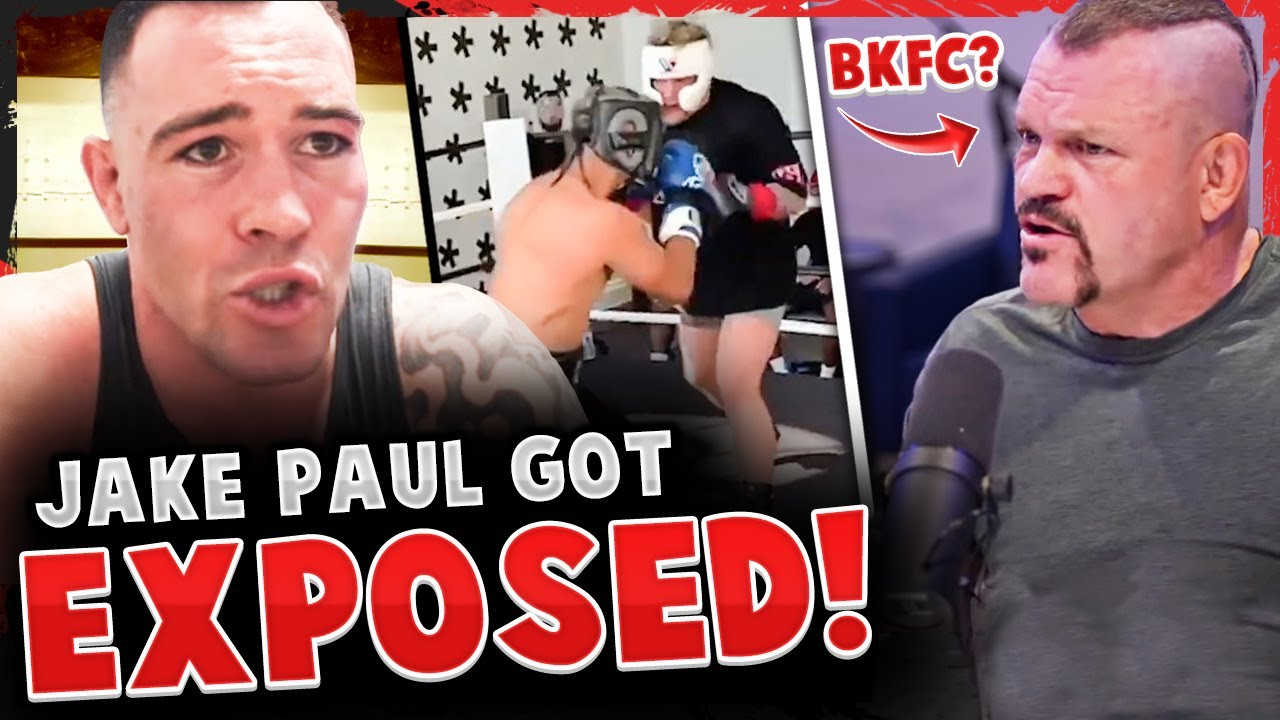 Colby Covington says Jake Paul got EXPOSED training! Chuck Liddell bare knuckle boxing? Kamaru Usman
