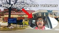 Housing assistance for Homeless Veterans | Vlog #13
