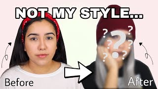 Not My Style Challenge Makeover | TRANSFORMING MYSELF
