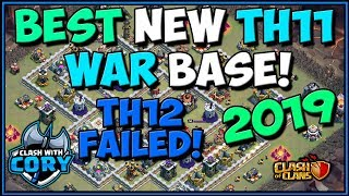 BEST TH11 WAR BASE! *NEW 2019* CWL INVITE | CLASH OF CLANS | TOWN HALL 11