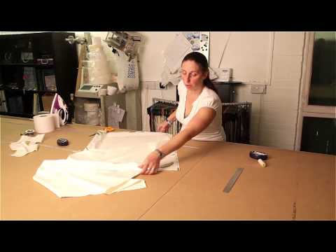 Light and Shade Hand Made Curtains - How to make a curtain