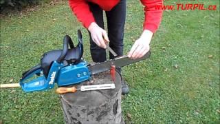 Jak nabrousit motorovou pilu