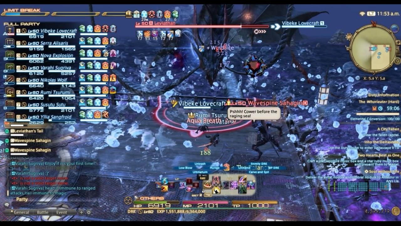 The Whorleater (Hard) - Final Fantasy XIV A Realm Reborn