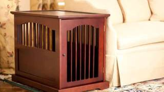 Collection Of Wood Dog Crate Furniture