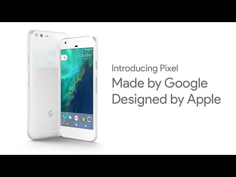 Introducing Pixel Parody. Made by Google, Designed by Apple