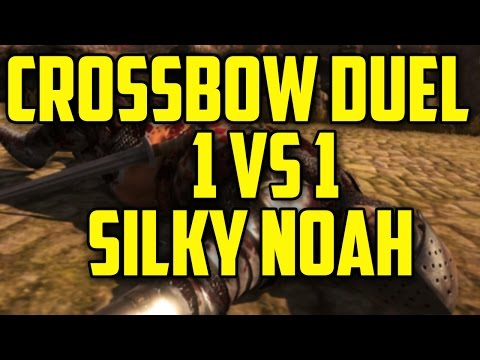 Crossbow Duel 1 VS 1 With SilkyNoah (Chivalry: Medieval Warf)