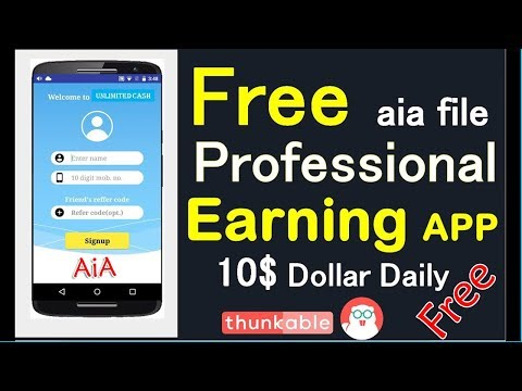 High Quality Task Earning App with Admin Unite ID - Free AIA || 2K19