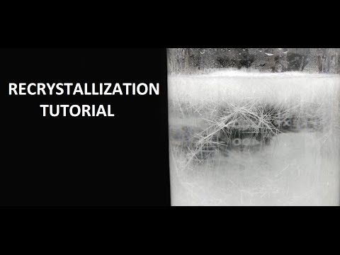 Technique Series: Recrystallization (urea As An Example)