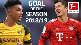 Best Goals 2018/19 - Vote for the Goal of the Season