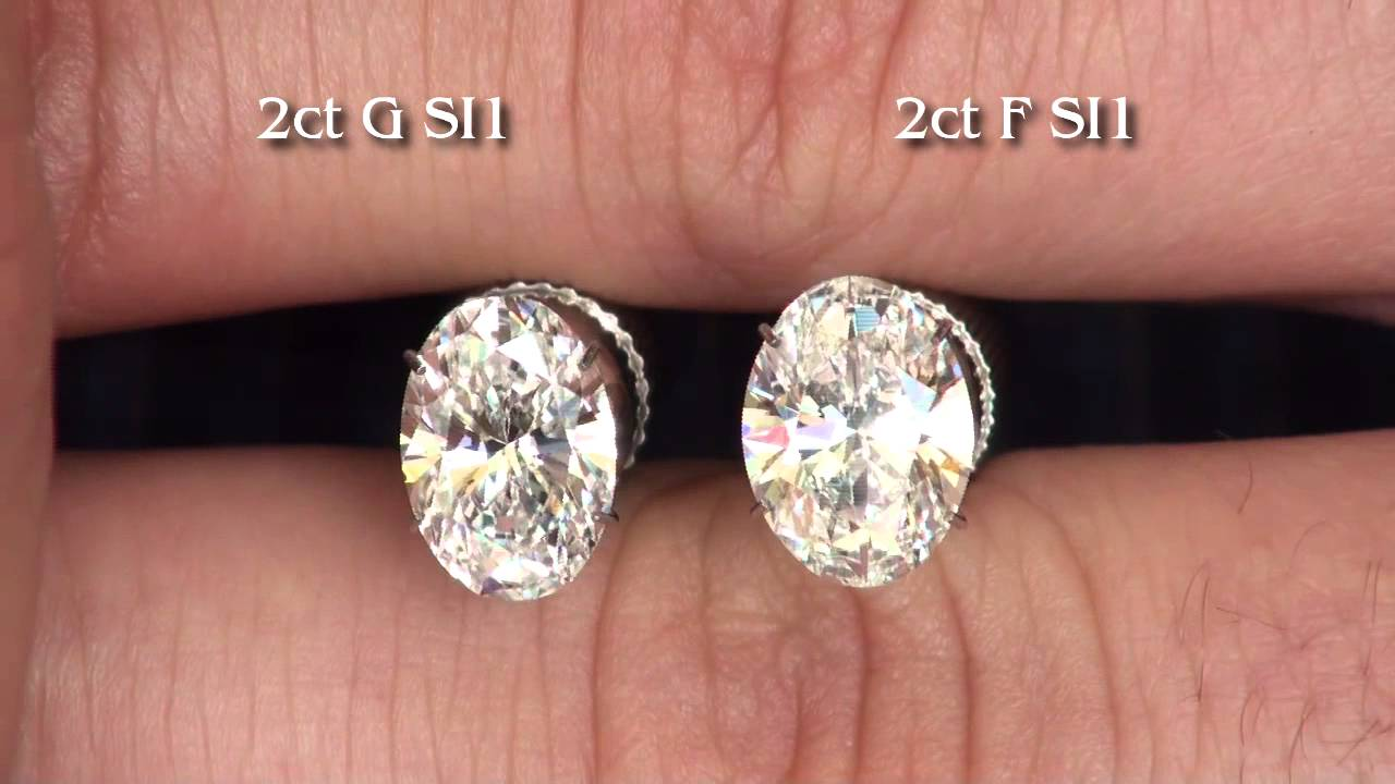 diamond comparisons d see color g side is diamonds by vs it yellow too