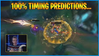 0.01s ADC Perfect Timing...LoL Daily Moments Ep 1233