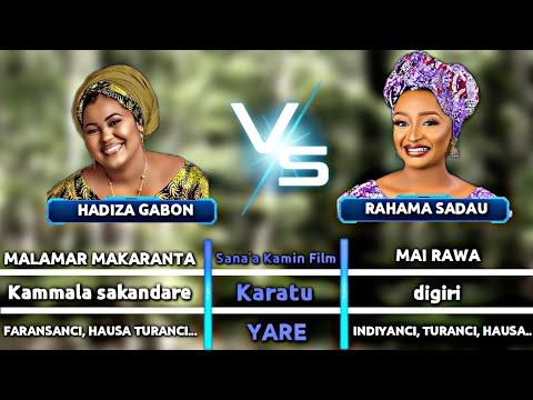 Download Saurari bambance-bambance dake Sakanin Hadiza Gabon da Rahama Sadau da ba kowa ne yasan da hakan ba.