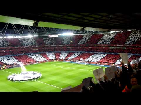 Arsenal FC - Bayern Munich Champions League Anthem 19.02.2014