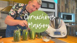 Cornichons en pickles Maison au Thermomix