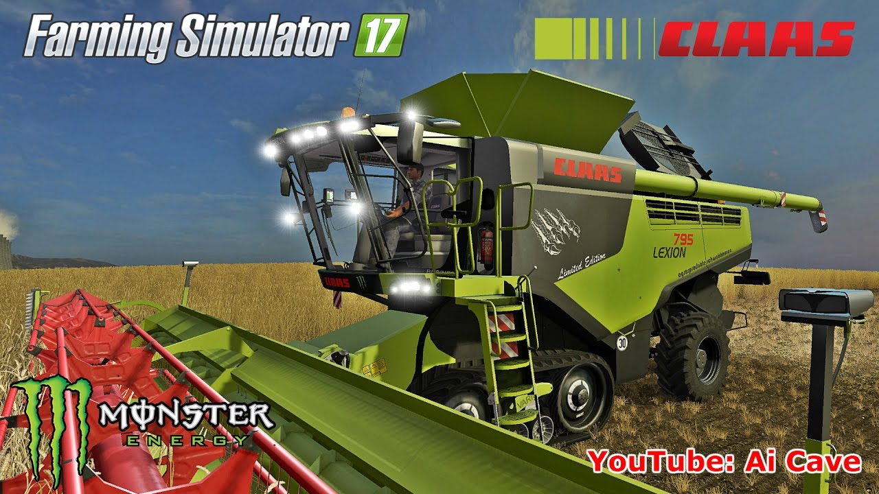 may be the best farming simulator 2017 combine mod claas lexion 795 monster edition youtube. Black Bedroom Furniture Sets. Home Design Ideas