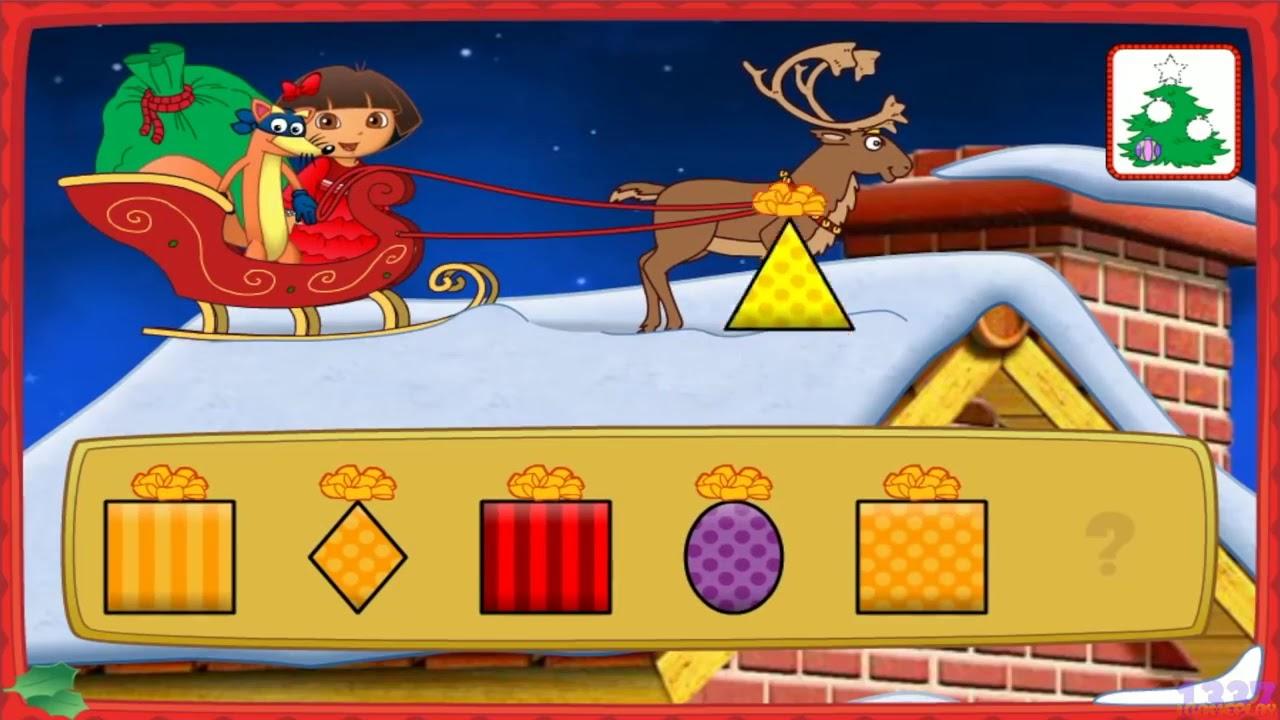 Dora the Explorer Dora's Christmas Carol Adventure Cartoon Game Episode for Kids - YouTube