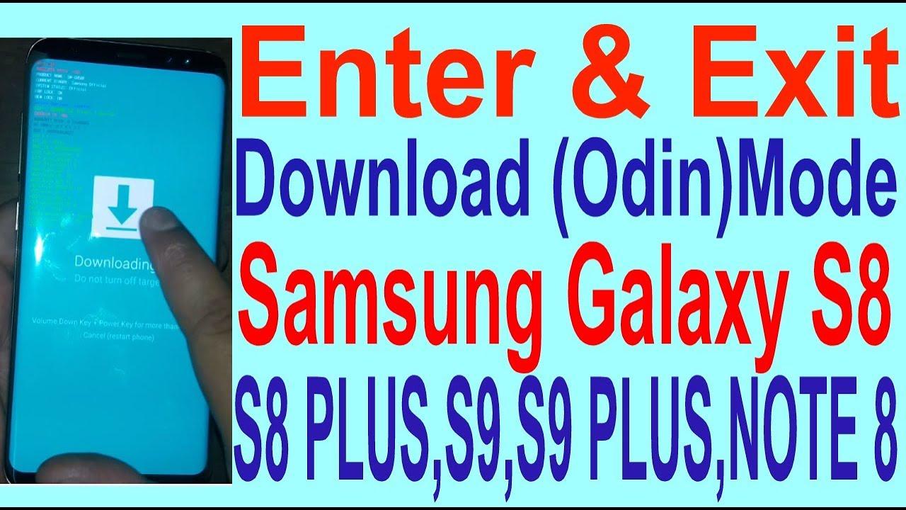 odin download samsung s8 plus