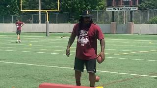 Fam First Family Football Camp with Marshawn Lynch (LIVE)