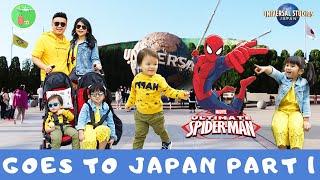 """Akhirnya Munel ketemu Spiderman!! """"Jepang Part 1"""""""