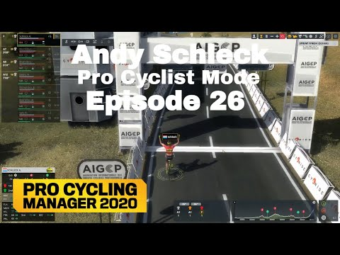 WorldTour Contract - Andy Schleck Pro Cyclist Mode Episode 26 - Pro Cycling Manager 2020 |