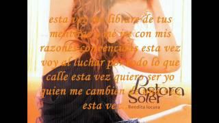 Pastora Soler y Manuel Carrasco Esta vez quiero ser yo (con letra)