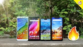 Redmi Note 5 Pro Vs Mi A2 Vs Nokia 6.1 Plus Vs Poco F1 - Best ? எது வாங்கலாம் ?   Tamil Tech