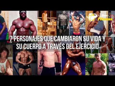 7 Personajes que Transformaron su Cuerpo