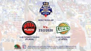 ENVIVO: CLUB FERNANDO VALERIO (PLAZA) Vs.   (CUPES) CLUB LOS PEPINES