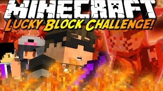 Minecraft Lucky Block Mod CHALLENGE! NARUTO?!