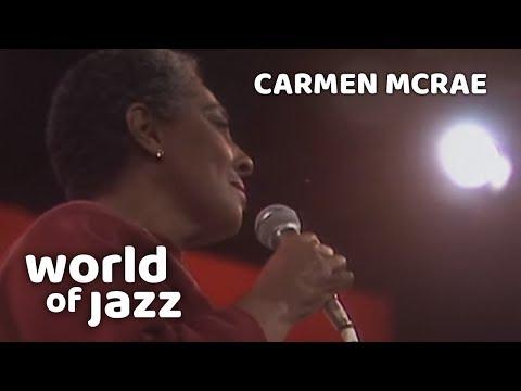 Carmen McRae  - Don T Get Around Much Anymore - 11 July 1987 • World Of Jazz