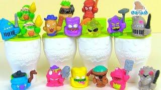 Сюрпризы Жители туалета #Grossery Gang! Time Wars Детский мультик! Испорченные продукты