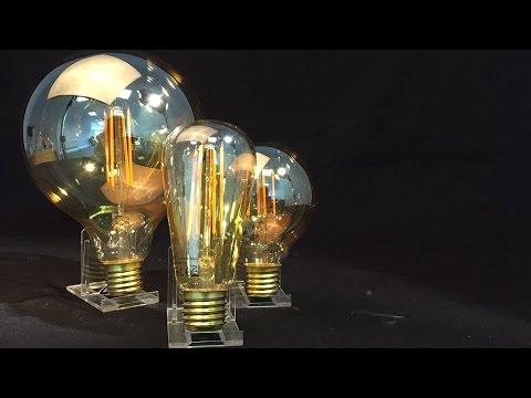 LED Vintage Filament Lamps