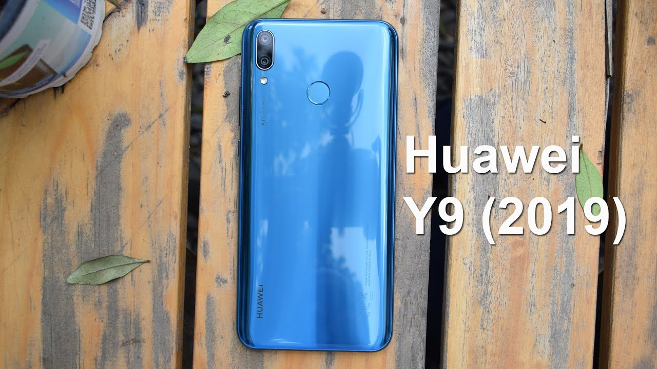 Huawei Y9 2019 Unboxing and Impressions
