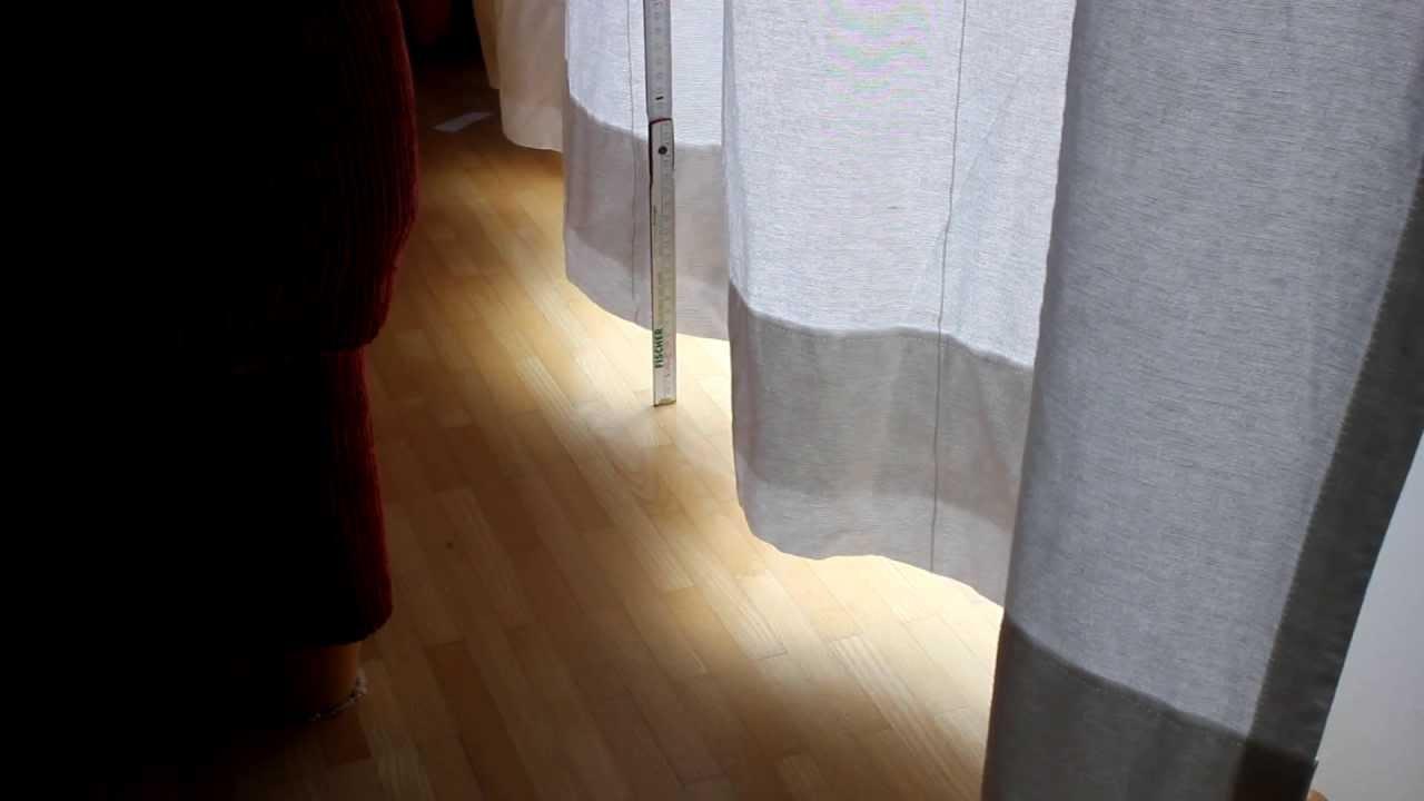 Seilsystem Vorhang vorhang verlängern teil 01 05 der zu kurze vorhang